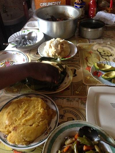 A set Ugandan table