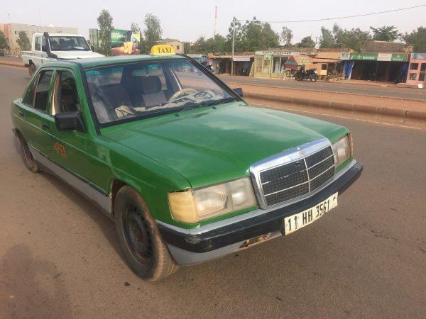 green shared taxi ouagadougou burkina faso